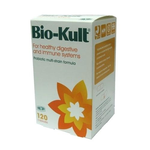 biokult probiotic 120 capsule  starter cultures for